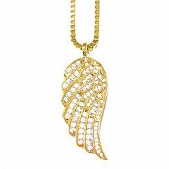 Golden Gilt / Design By TSS ウイング ネックレス ゴールド