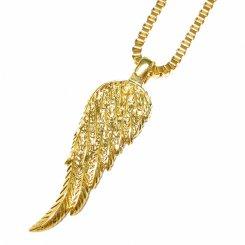 Golden Gilt / Design By TSS フェザー ネックレス ゴールド