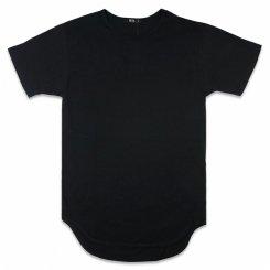 EPTM エピトミ ロング丈 半袖 無地Tシャツ ブラック