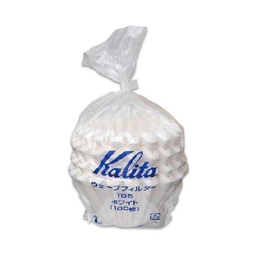 Kalita Wave Paper 185 100p white