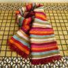 ベジタブルシルクの手織りストール マルチレイフィーヌ