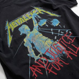 90's メタリカ ...And Justice For All バンドTシャツ [METALLICA]