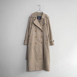 [レディース] ~1990's イングランド製 バーバリー トレンチコート ベージュ [Burberrys'] 7030-1