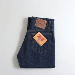 [レディース] 1990s デッドストック USA製 リーバイス 501 デニムパンツ 濃紺 ワンウォッシュ [Levi's]