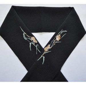 カヤネズミ 黒半襟