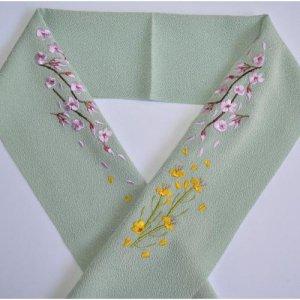 桜と菜の花   抹茶