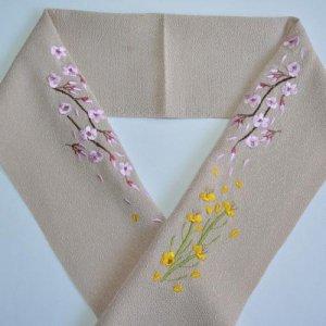 桜と菜の花   豚しゃぶ色