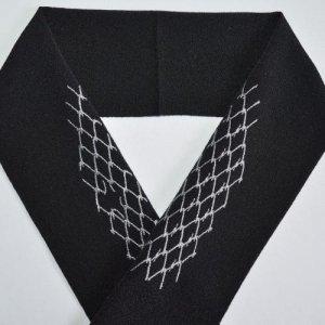 フェンス 黒半襟