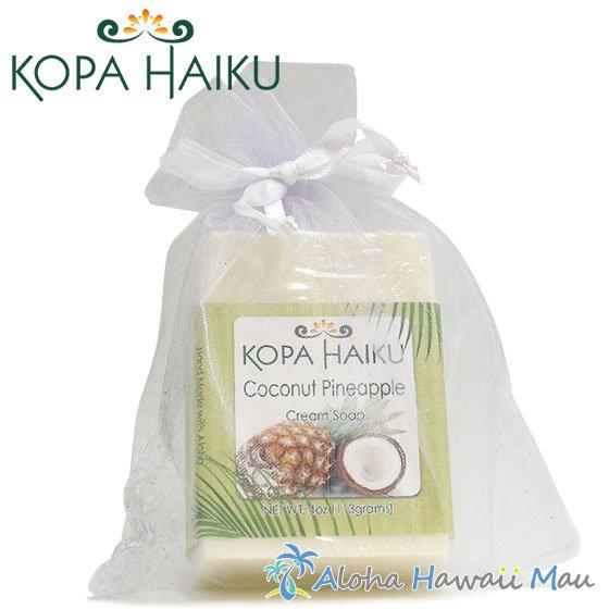 コパハイク ハワイアンソープ ココナッツパイナップル