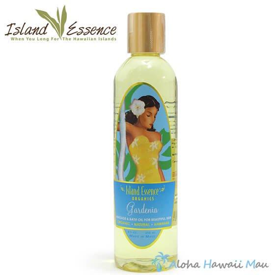 Island Essence マッサージ&バスオイル ガーデニアの香り 250ml
