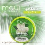 Maui Soap Company マウイソープカンパニー スクラブソープ ガーデニア 4.7oz