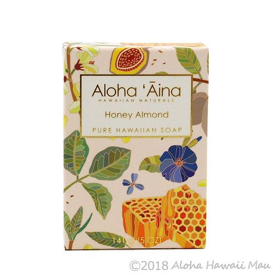 Maui Soap Company アロハアイナ ハニーアーモンドの香り パッケージ