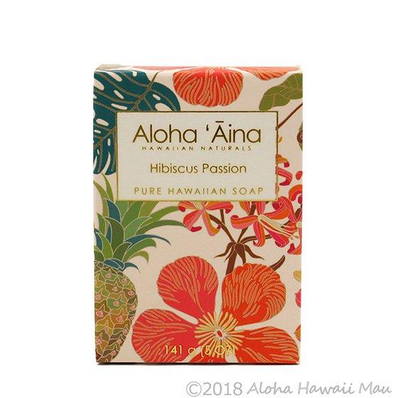 Maui Soap Company アロハアイナ ハイビスカスパッションの香り