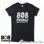 808THINGS  Tシャツ レディース 半袖 ブラック