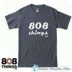 808THINGS  Tシャツ メンズ 半袖 ダークグレー
