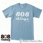 808THINGS  Tシャツ メンズ 半袖 グレー