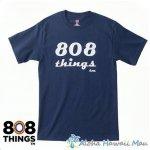 808THINGS  Tシャツ メンズ 半袖 ネイビー