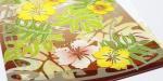 Plumeria Sun (イエロー)ハイビスカス柄|クリアフォルダー