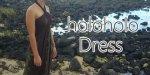 【East Honolulu Clothing Company】 Holoholo Dress ホロホロドレス ブラウン マイレ&パラパライ柄