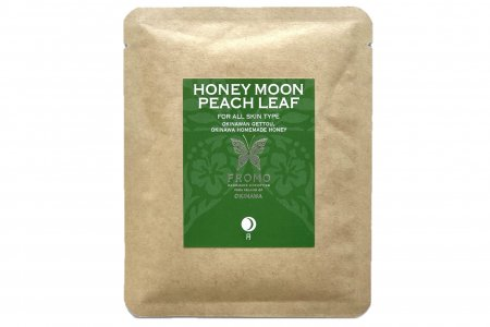 バスソルト HONEY MOON PEACH LEAF