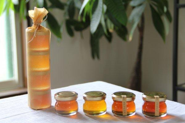 ローハニー4種セット Raw honey 4 types