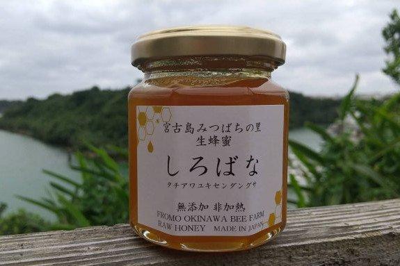 生ハチミツ  宮古島しろばな(沖縄)