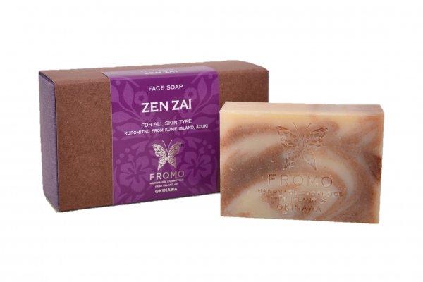 ZEN・ZAI</br>ゼンザイ</br> 黒みつとあずきの石鹸 </br>ボックス入り