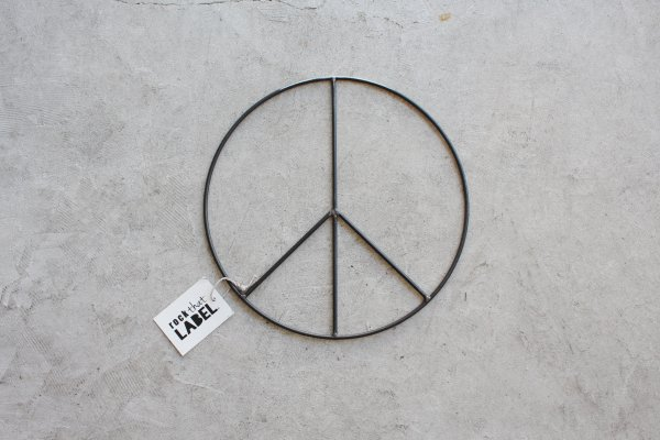 Rock that LABEL Peace sign Medium