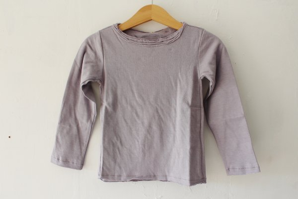 <img class='new_mark_img1' src='//img.shop-pro.jp/img/new/icons55.gif' style='border:none;display:inline;margin:0px;padding:0px;width:auto;' />Little Hedonist Longsleeve Shirt Lilac Grey
