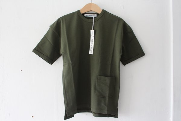 <img class='new_mark_img1' src='//img.shop-pro.jp/img/new/icons14.gif' style='border:none;display:inline;margin:0px;padding:0px;width:auto;' />17ss MINGO T-shirt Forest green