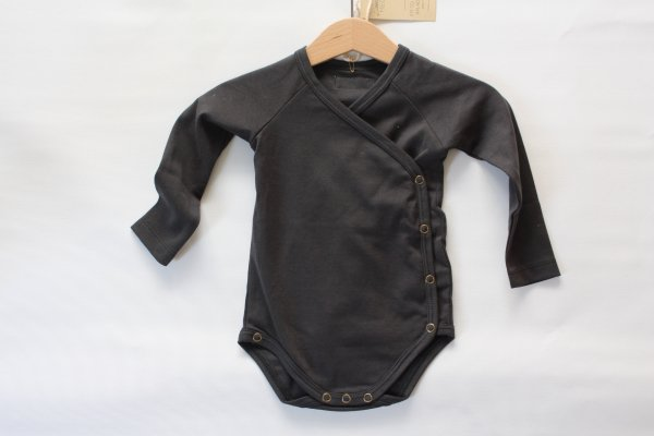 Little Hedonist Romper suit/Black