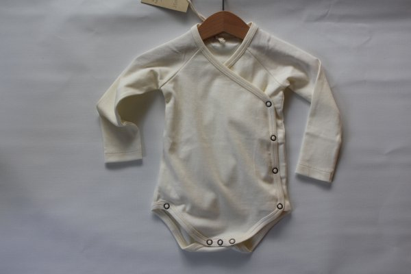 Little Hedonist Romper suit/Antieque white