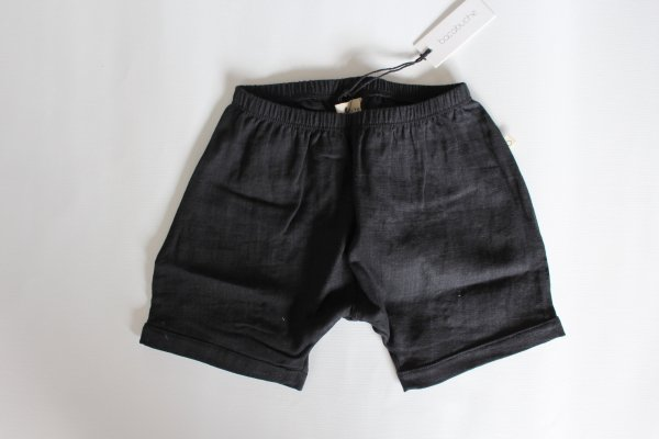<img class='new_mark_img1' src='//img.shop-pro.jp/img/new/icons14.gif' style='border:none;display:inline;margin:0px;padding:0px;width:auto;' />17ss Bacabuche Double Gauze Black Shorts