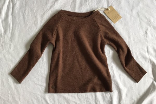 <img class='new_mark_img1' src='//img.shop-pro.jp/img/new/icons14.gif' style='border:none;display:inline;margin:0px;padding:0px;width:auto;' />Little Hedonist Sweater Davit / Chesnut