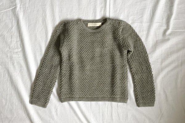 70%off Septembers Peri sweater - Light grey  8Y