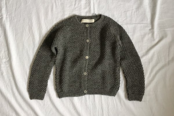 <img class='new_mark_img1' src='https://img.shop-pro.jp/img/new/icons16.gif' style='border:none;display:inline;margin:0px;padding:0px;width:auto;' />70%off bSeptembers Pera cardigan - Grey