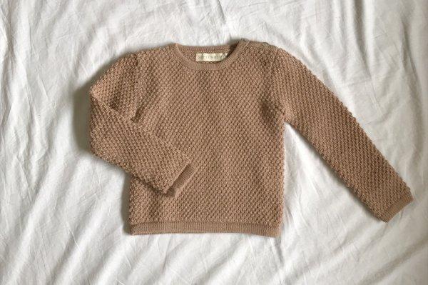 70%off Septembers Peri sweater - Rose