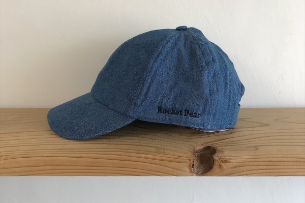 <img class='new_mark_img1' src='//img.shop-pro.jp/img/new/icons14.gif' style='border:none;display:inline;margin:0px;padding:0px;width:auto;' />18ss Rocket pear cap denim