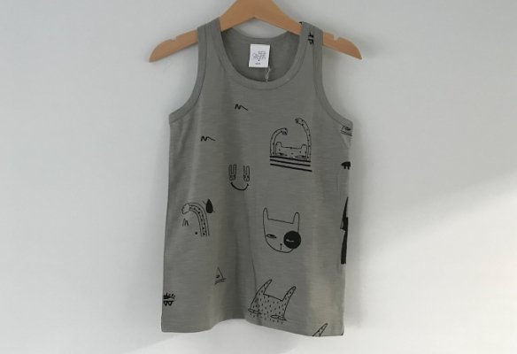 <img class='new_mark_img1' src='//img.shop-pro.jp/img/new/icons14.gif' style='border:none;display:inline;margin:0px;padding:0px;width:auto;' />18ss kids on the moon Dream Makers Tank Top