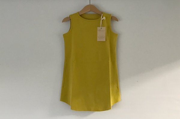 Little Hedonist Summer dress Oiled Yellow