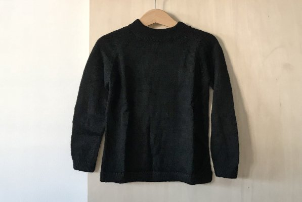 <img class='new_mark_img1' src='https://img.shop-pro.jp/img/new/icons34.gif' style='border:none;display:inline;margin:0px;padding:0px;width:auto;' />70%off Septembers sweater Cali  - Black