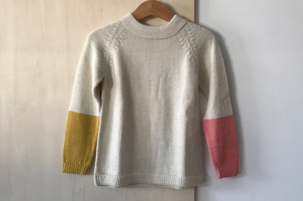 <img class='new_mark_img1' src='https://img.shop-pro.jp/img/new/icons16.gif' style='border:none;display:inline;margin:0px;padding:0px;width:auto;' />70%off Septembers sweater Cali  Duo - Ecru