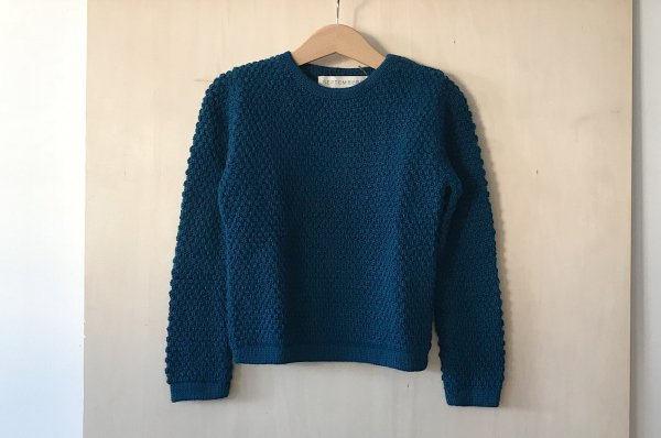 <img class='new_mark_img1' src='https://img.shop-pro.jp/img/new/icons34.gif' style='border:none;display:inline;margin:0px;padding:0px;width:auto;' />70%off Septembers sweater peri petrol