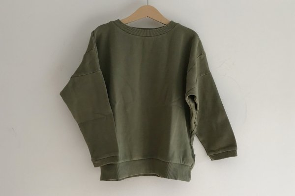 <img class='new_mark_img1' src='//img.shop-pro.jp/img/new/icons14.gif' style='border:none;display:inline;margin:0px;padding:0px;width:auto;' />19ss REPOSE.AMS Over sized sweater used khaki ※2便入荷