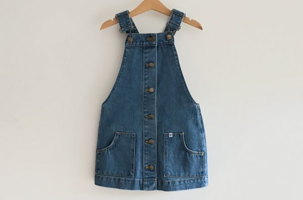 <img class='new_mark_img1' src='//img.shop-pro.jp/img/new/icons14.gif' style='border:none;display:inline;margin:0px;padding:0px;width:auto;' />19ss REPOSE.AMS Dungaree dress denim blue ※2便入荷