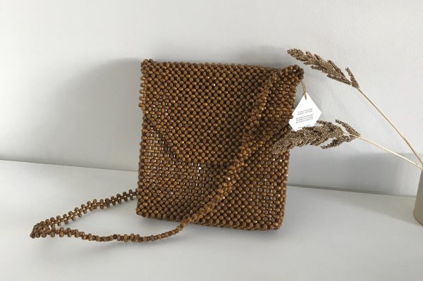 <img class='new_mark_img1' src='https://img.shop-pro.jp/img/new/icons16.gif' style='border:none;display:inline;margin:0px;padding:0px;width:auto;' />30%off Abaca Ligaw Wood Sling / chestnut