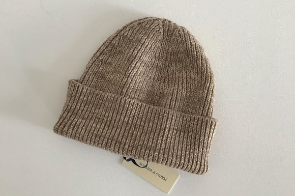 <img class='new_mark_img1' src='//img.shop-pro.jp/img/new/icons14.gif' style='border:none;display:inline;margin:0px;padding:0px;width:auto;' />summer&storm Petite Beanie / ivory&caramel