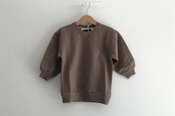 <img class='new_mark_img1' src='//img.shop-pro.jp/img/new/icons14.gif' style='border:none;display:inline;margin:0px;padding:0px;width:auto;' />19AW MINGO OVERSIZED SWEATER TAUPE