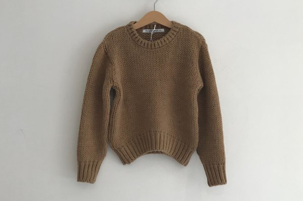 <img class='new_mark_img1' src='//img.shop-pro.jp/img/new/icons14.gif' style='border:none;display:inline;margin:0px;padding:0px;width:auto;' />19AW MINGO SWEATER KNIT SAND