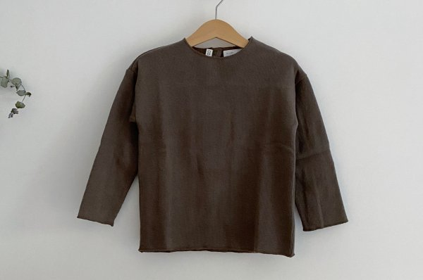<img class='new_mark_img1' src='https://img.shop-pro.jp/img/new/icons14.gif' style='border:none;display:inline;margin:0px;padding:0px;width:auto;' />CO LABEL Warm Cotton Blouse Mellow Brown